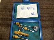 YELLOW JACKET SUPERHEAT CALCULATION KIT #69104 W/BALL VALVE & ACCESSORIES